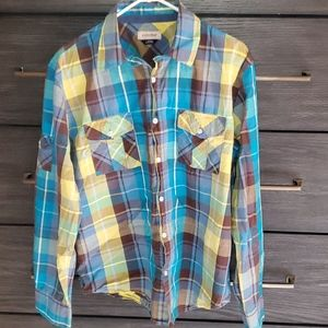 Anchorblue Long Sleeve Button-up Shirt